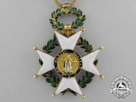 II Class Gold Cross Obverse