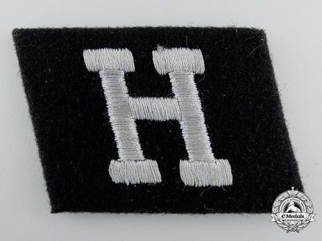 Waffen-SS 'Hunyadi' Division Collar Tab Obverse