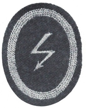 Kriegsmarine Cadet Communications Insignia Obverse