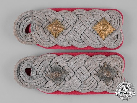 German Army Armoured Oberst Shoulder Boards Obverse
