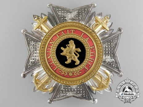 Grand Officer Breast Star (Maritime Division, 1934-1951) (by P. DeGreef) Obverse