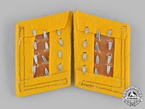 Luftwaffe Flying Troops Stabsfeldwebel/Oberfeldwebel Collar Tabs Reverse