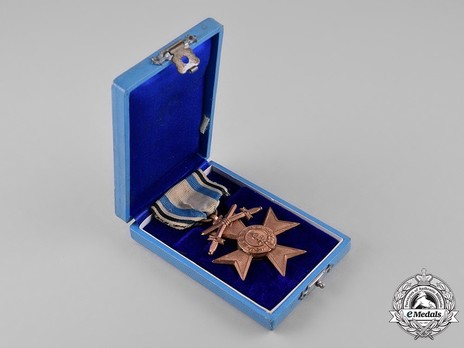 Order of Military Merit, Military Division, III Class Military Merit Cross Case of Issue Reverse