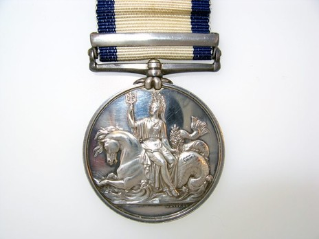 """Silver Medal (with """"JAVA"""" clasp) Reverse"""