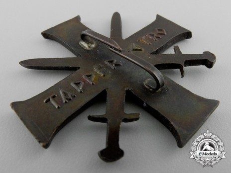Order of Bravery and Loyalty, I Class Cross Reverse