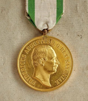 "Medal for Art and Science ""BENE MERENTIBVS"", Type V, in Gold"