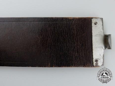 Luftwaffe Brown Leather Belt Strap Obverse