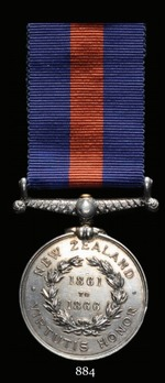 New Zealand Medal (1861-1866)