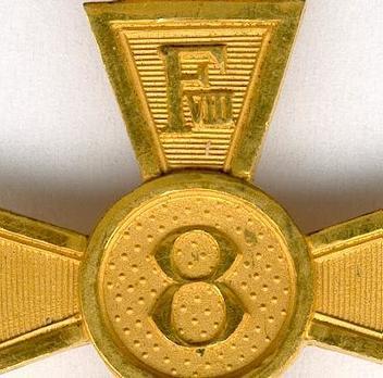 Cross (King Frederik VIII for 8 years) Obverse