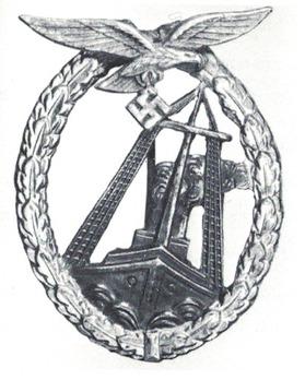 Luftwaffe Sea Combat Badge Obverse