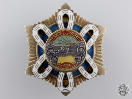 Order of the Polar Star, Type III Obverse