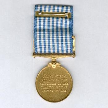 Bronze Medal (unnamed) Reverse