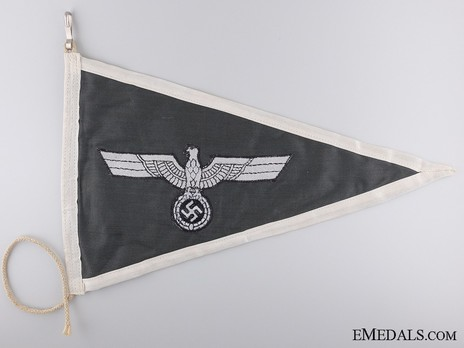 German Army Officer's Pennant Obverse