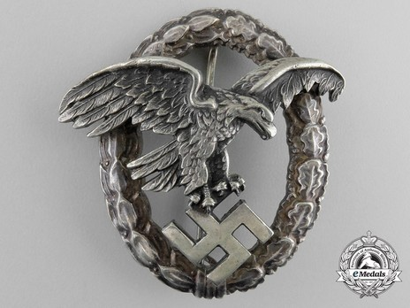 Observer Badge, by Assmann (in tombac) Obverse