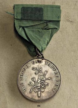 Bravery Medal for Kurmainz Militia, in Silver