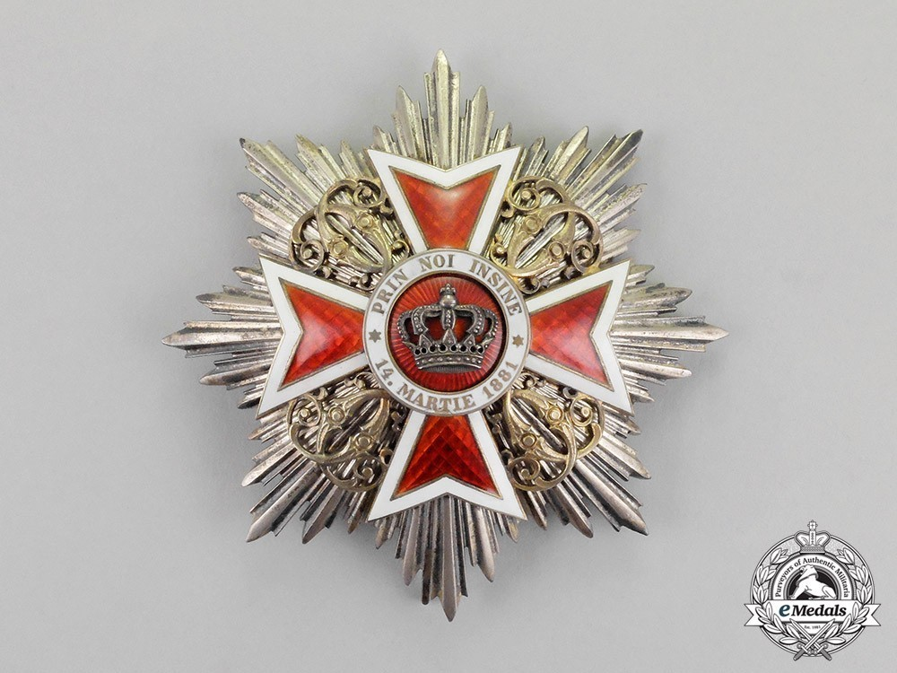 Order+of+the+romanian+crown%2c+grand+cross+breast+star+1
