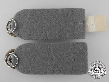 Waffen-SS Gruppenführer Shoulder Boards Reverse