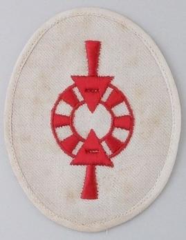Kriegsmarine Weapons Control Foreman (Unit Training) Insignia Type II Obverse