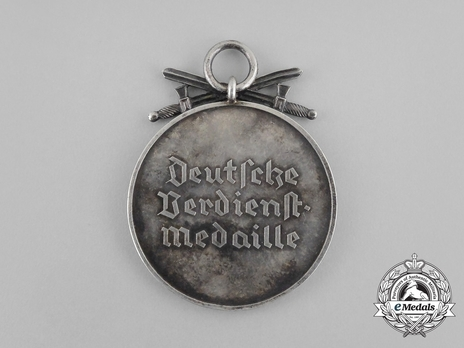 Silver Merit Medal with Swords (Gothic version) Obverse