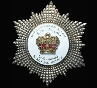 Order of the Defender of the Realm, Commander Breast Star