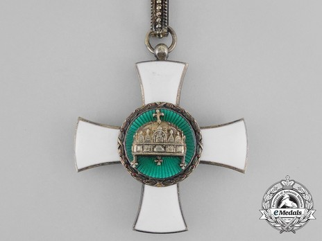 Order of the Holy Crown, Commander, Civil Division Obverse