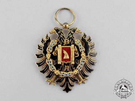 Order of Fidelity, Type II, Knight's Cross Obverse