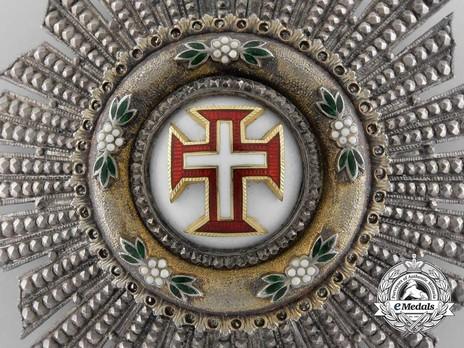 Grand Cross Breast Star (Silver gilt) Obverse