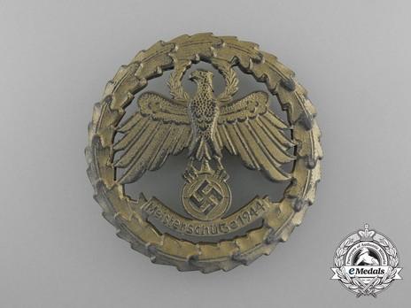 Tyrolean Marksmanship Gau Master Shooting Badge, Type IV (large version) Obverse