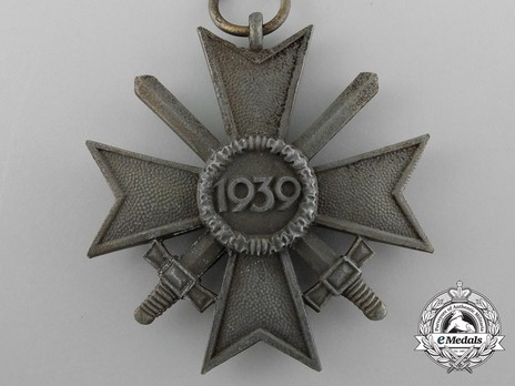 War Merit Cross II Class with Swords (by Deschler) Reverse