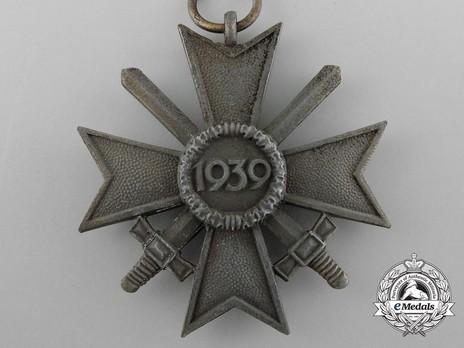 War Merit Cross II Class with Swords (by Deschler) Reverse