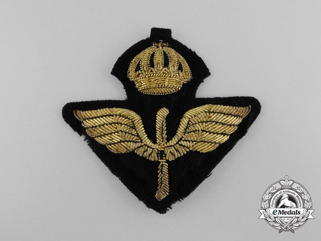 Air Force Officer's Cap Badge Obverse