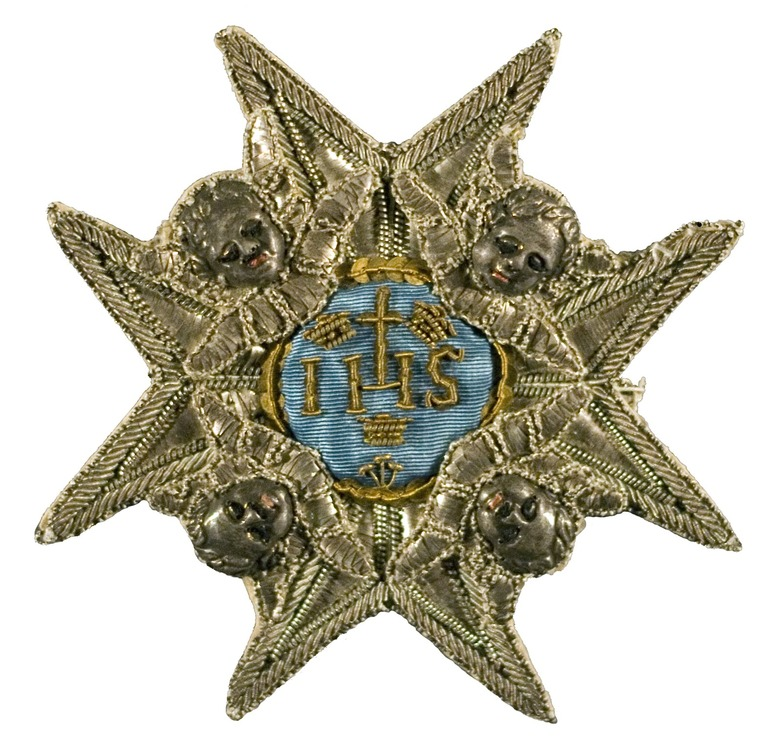 Embroidered breast star 2