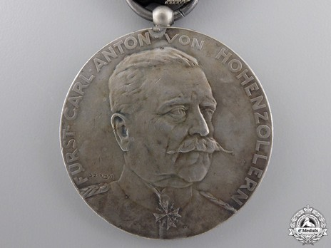 "Silver Medal (stamped ""SZIRMAI"") Obverse"