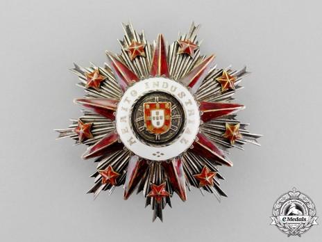Grand Officer Breast Star (1926-) Obverse