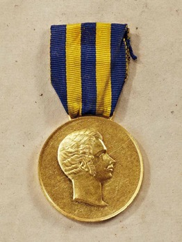 "Civil Merit Medal, Type II, in Gold (stamped ""ZOLLMAN"")"