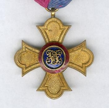 Gold Medal of Merit Reverse