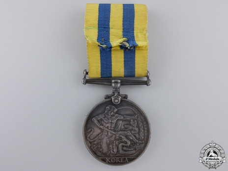 Silver Medal (for Canadian recipients) Reverse