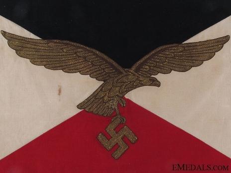 Flag of Luftwaffe Commanding Generals Reverse