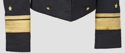 Kriegsmarine Konteradmiral Sleeve Stripes Obverse