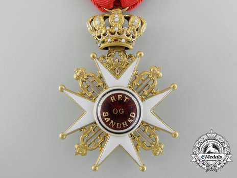 Order of St. Olav, Civil Division, Knight I Class (1847-1906)