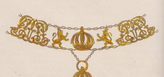 Order of Leopold, Collar