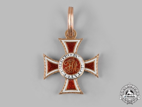 Order of Leopold, Type II, Knight