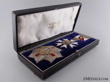 Commander (with silver-gilt by Garrard) in Case of Issue