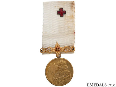 Red Cross Appreciation Gold Medal (I Class) Obverse