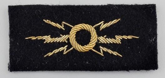Kriegsmarine Officer's Radio Operator Insignia Obverse