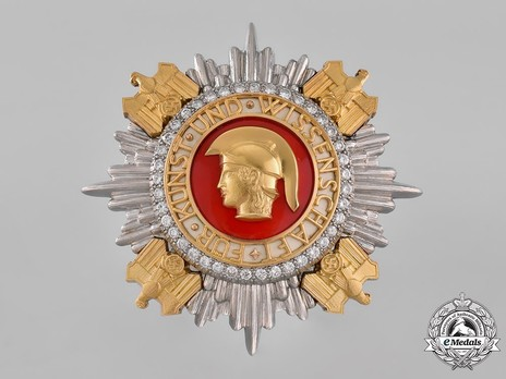National Prize for Art and Science, Breast Star Obverse