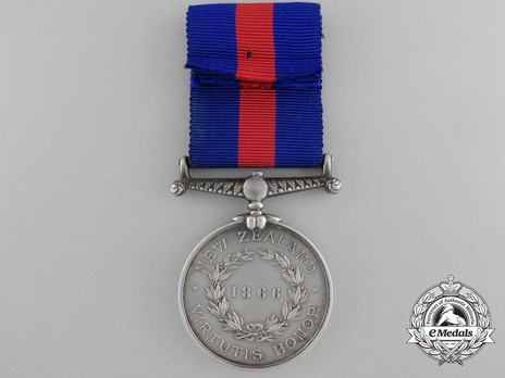 Silver Medal (1866) Reverse