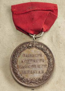 "Merit Medal, Type I, in Silver (stamped ""ANDRIEU F."")"