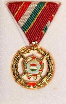 Brotherhood in Arms Medal, I Class Obverse