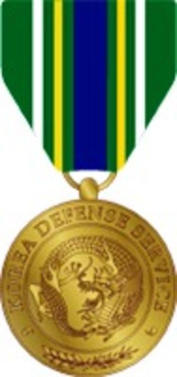 Korea defense service medal